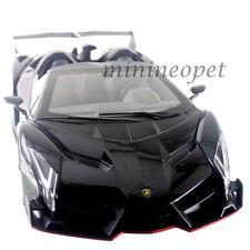 KYOSHO 09502 BKR LAMBORGHINI VENENO ROADSTER 1/18 DIECAST MODEL CAR BLACK