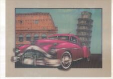 classical car 5D Lenticular  Holographic Stereoscopic Picture Wall Art