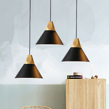 3X Kitchen Pendant Light Bedroom Modern Ceiling Lights Black Chandelier Lighting