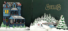 The NIGHT BEFORE CHRISTMAS ACL22 SIGNED SHELIA'S and FROZEN LAWN ACC23 SET OF 2
