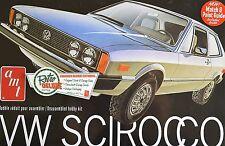 VOLKSWAGEN SCIROCCO VW 1978 1:25 AMT 925 PLASTIC KIT STOCK OR RACE