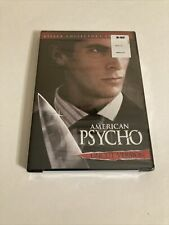 American Psycho Uncut Version Dvd Widescreen Christian Bale (New/Sealed)