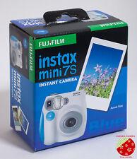 ●●Dead stock! FUJIFILM instax mini 7s Blue Instant Film Camera from Japan●●
