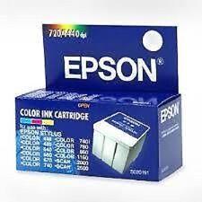 Epson S020191 Color Inkjet cartuccia  Epson Color 440, 640, 660, 670, 740