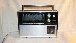 Vintage Lloyds N632B Multiband Portable Shortwave Radio-Works-Parts or Repair