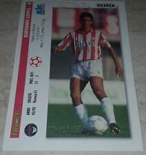 CARD JOKER 1994 VICENZA LOPEZ CONTE CALCIO FOOTBALL SOCCER ALBUM