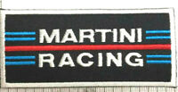Car Martini Racing Iron/ Sew-on Embroidered Patch/ Badge/ Logo(PREMIUM QUALITY)