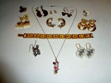 Mickey Mouse Jewelry Lot of 12 Pieces