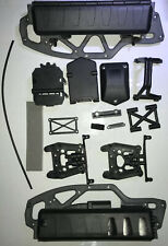 Hpi Savage Xs Flux Chassis, Battery And Receiver Box #106571