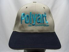 POLYART - THE SYNTHETIC PAPER - ADJUSTABLE STRAPBACK BALL CAP HAT!