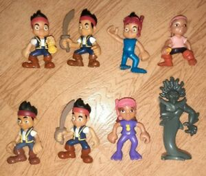 DISNEY JAKE AND THE NEVERLAND PIRATES FIGURES LOT