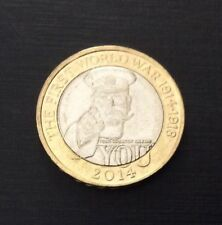 £2 Coin First World War Centenary Lord Kitchener 2014 FREEPOST