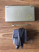 Nintendo DS Lite Zelda TriForce Edition Gold Console Handheld System NDS GRADE A