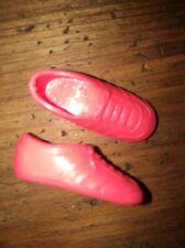 Barbie or Skipper Vintage NEON Orange Flat Foot Tennis Shoes Sneakers Gym