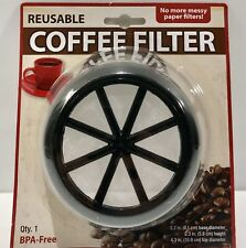 Schroeder & Tremayne Reusable Coffee Filter, Item #582400. New, Free Shipping