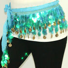 sale sale handmade belly dance belts hip scarf with sequins 5668