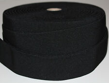 1 m Gummiband 50 mm 5 cm Schwarz hohe Zugkraft gewebt Rock Kleid Gürtel