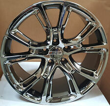 20x9 Jeep SRT Wheels OE Style Replica Rims PVD Fit Grand Cherokee Wrangler 5x127