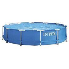 NEU Intex Aufstellpool Frame Pool Set Rondo ohne Filterpumpe Blau, Ø 366 x 76 cm