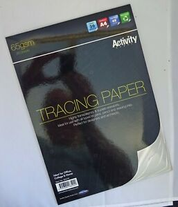 A4 Tracing Paper Pad - Ideal For Designers &  Architects