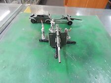 Dinky 88mm gun with crew and Kublewagon with cannon