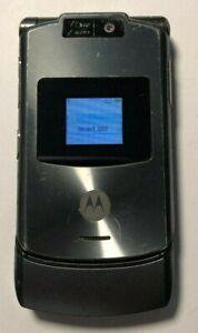 READ FIRST Motorola RAZR V3xx Gray (AT&T) Cellular Phone Very Good Used
