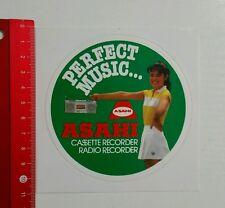 Autocollant/sticker: Asahi enregistreur radio (15061681)
