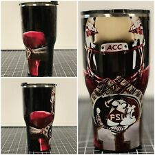 Yeti Ozark 20 Oz 30 Oz Fsu Florida State University Wrapped Cup Rambler Tumbler