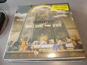 Scooter - God Save The Rave  - ltd. 2LP Vinyl /// Neu & OVP