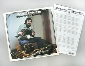 """Alistair Anderson - Dookin' For Apples + PRESS RELEASE - NM 12"""" Vinyl 12TS402"""