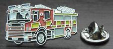 Fire Engine Lapel Hat Tie Cap Pin Badge Firefighter Services Appliance Fireman