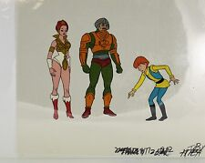 He-Man Masters of the Universe Original Animation filmation Cel Teela Ma-At-Arm