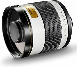 Walimex Pro 800mm f/8.0 T Mount Tele Mirror Lens + Canon EOS Mount Adapter