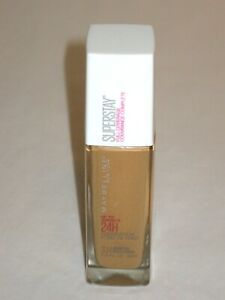 Maybelline Super Stay Full Coverage Liquid Foundation Makeup Warm Sun #334
