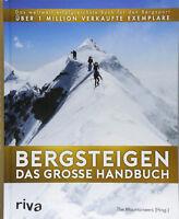 Bergsteigen Das große Handbuch Bergsport Klettern Lexikon Ausrüstung Buch NEU