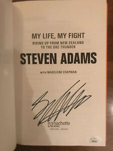 My Life, My Fight: Rising Up from New Zealand to the Thunder Steven Adams JSA