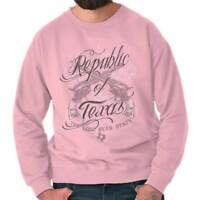 Republic Of Texas Lone Star State Country Cowboy Souvenir Sweatshirt