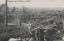 * GORIZIA GORZ - Trincee verso Vertoiba (Slovenia) WWI