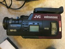 JVC Videomovie GR-65 analogue video camera with accessories