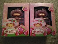 Two  Strawberry Shortcake Berry Special Photo Frame Holiday Ornaments - 2004