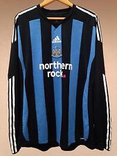 PLAYER ISSUE Newcastle United 2009/2010 Third Adidas shirt jersey long sleeves