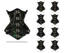 Heavy Duty 26 Double SteelBoned Waist Training Brocade Underbust Corset 8709-BRO