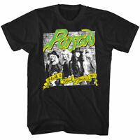 Poison Flesh & Blood Concert Tour 90's Men's T Shirt Rock Band Crew Merch Top