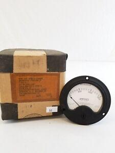 NOS Vintage Navy Army Westinghouse 1724980 Meter 0-1500 Amperes