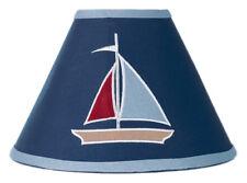 Sweet Jojo Designs Lamp Shade for Nautical Blue Sail Boat Baby Kids Bedding Set