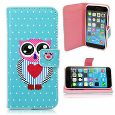 """Smart PU Leather Wallet Flip Phone Case Cover Stand For Apple iPhone 6 6s 4.7"""""""