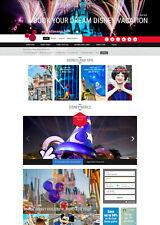 Established DISNEY WORLD Disneyland Vacation Travel Affiliate website for sale