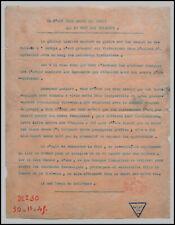 TRACT VIETNAMIEN en FRANÇAIS sur le Général LECLERC - 1945