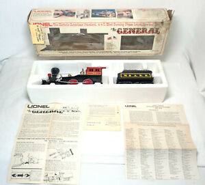 """Lionel  6-8701 O Scale """" The General """" 4-4-0 Steam Locomotive & Tender"""
