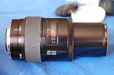 Minolta 100-200 AF zoom lens